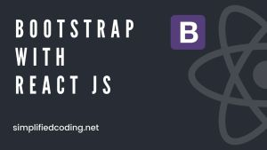 use bootstrap in react js