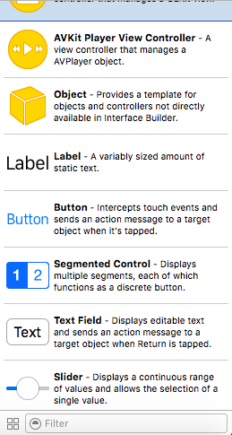 label button xcode