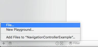 ios uinavigationcontroller tutorial