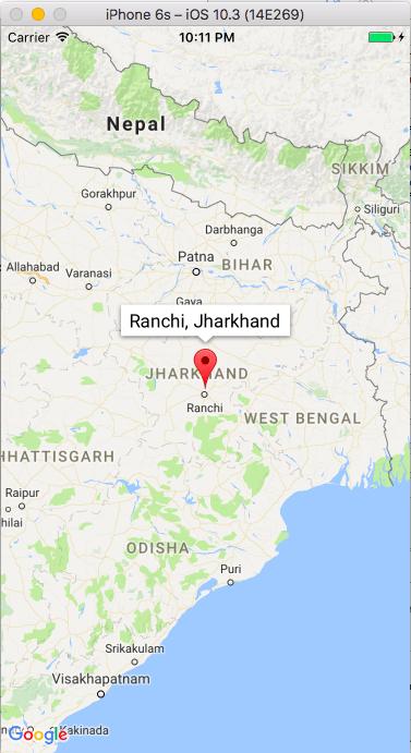 Google Maps iOS Tutorial
