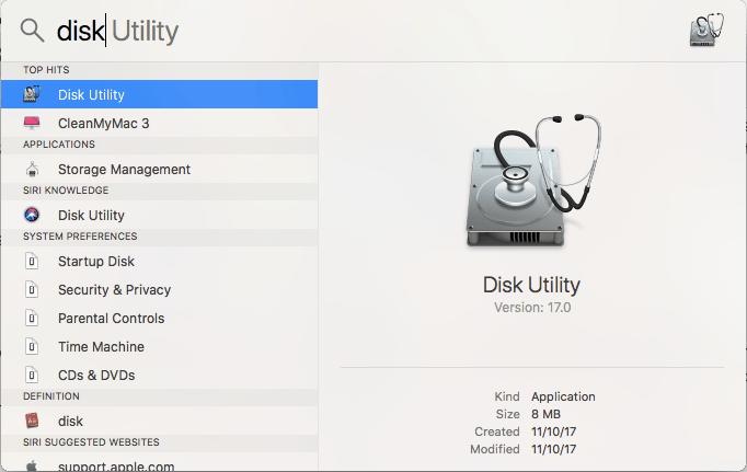 spotlight search mac