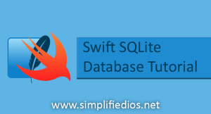 Swift SQLite Tutorial for Beginners – Using SQLite in iOS Application