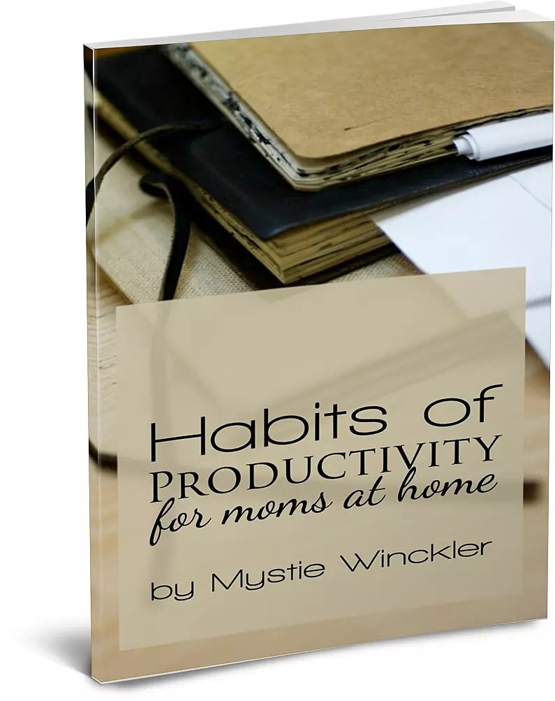 Habits of Productivity for Moms at Home