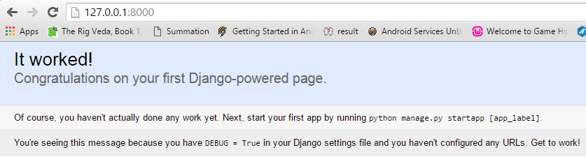 python django tutorial for beginners