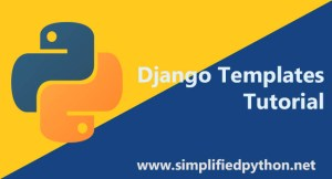 django templates tutorial