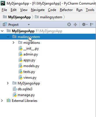 mailingsystem app