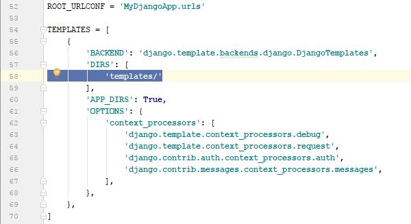 Django templates tutorial creating a simple template for Django template comment