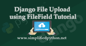 django file upload tutorial