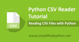 python csv reader