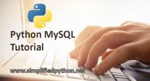 python mysql tutorial