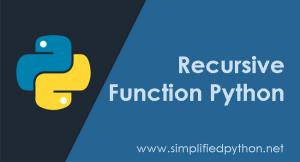 Recursive Function Python