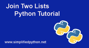 Join Two Lists Python – Learn Joining Two Lists With Examples