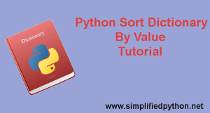 Python Sort Dictionary By Value