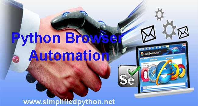 Python Browser Automation Using Selenium