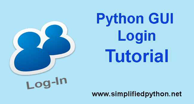 Python GUI Login - Graphical Registration And Login System