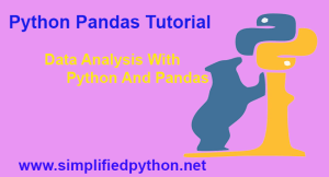python data analysis tutorial