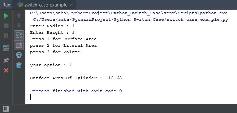 Python Switch Case Statement