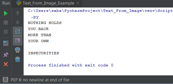 How To Extract Text From Image In Python