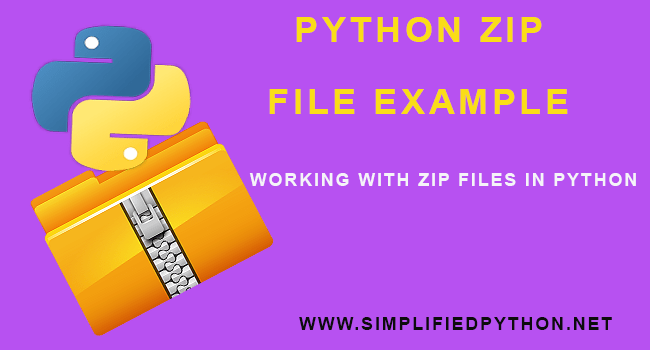 Python Zip File Example - Working With Zip Files In Python