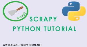 Scrapy Python Tutorial