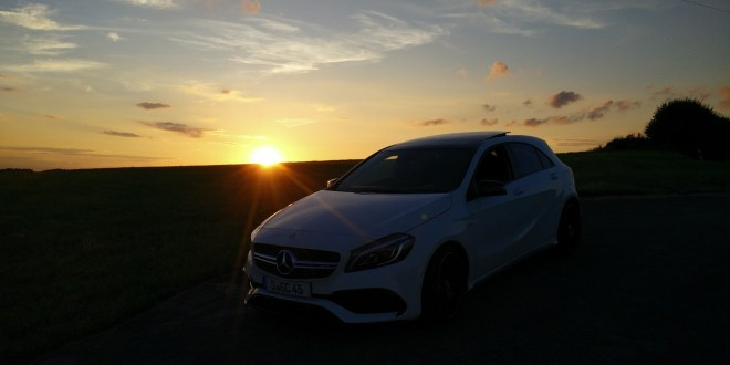 [Video] Pure Driving – AMG A45 meets Murrhardt