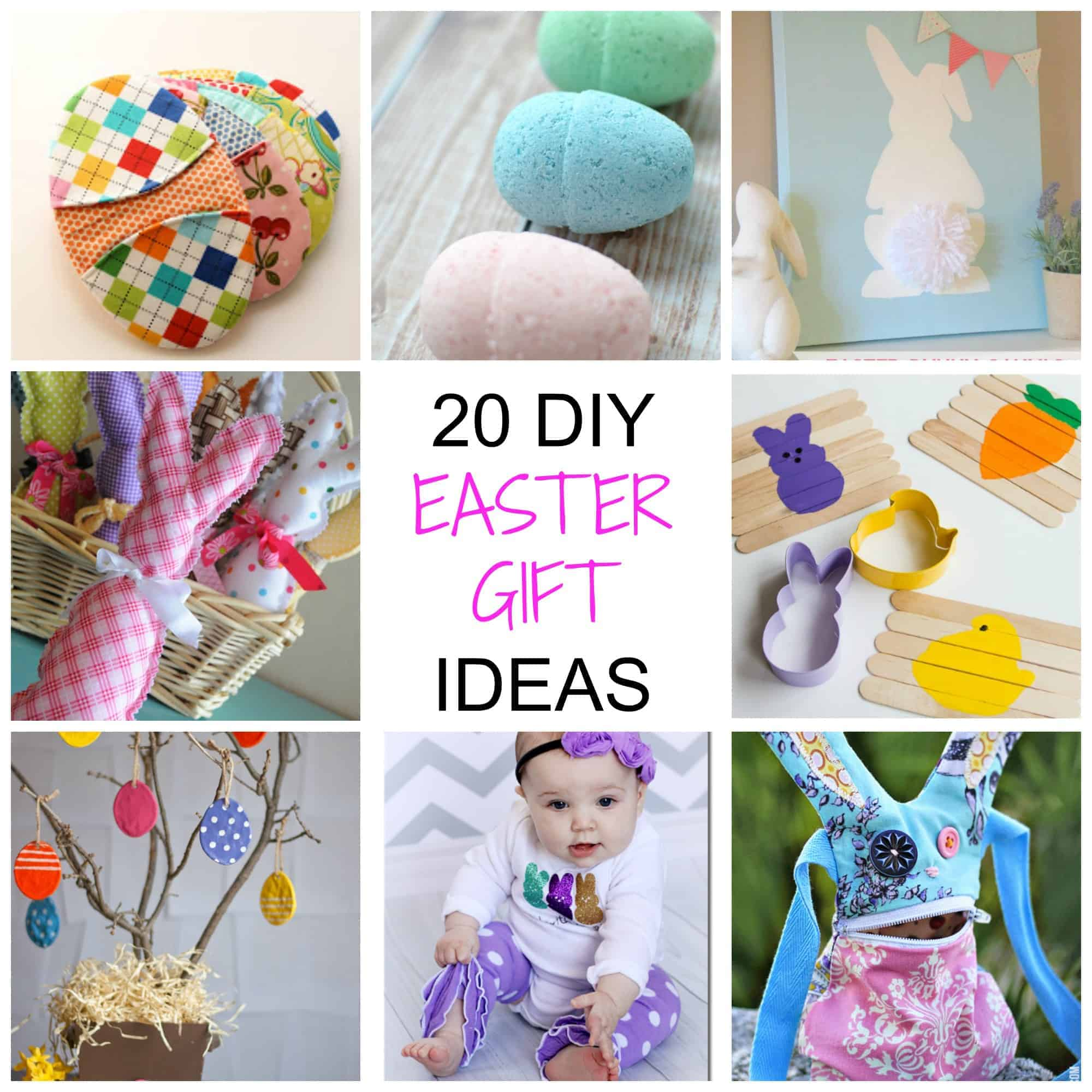 20 non chocolate diy easter gifts simplify create inspire diy easter gift ideas negle Images