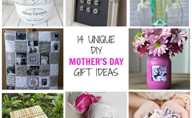 14 Unique Diy Mother S Day Gifts Simplify Create Inspire