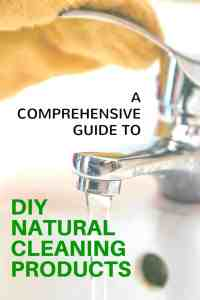 A comprehensive guide to DIY Homemade natural cleaning products