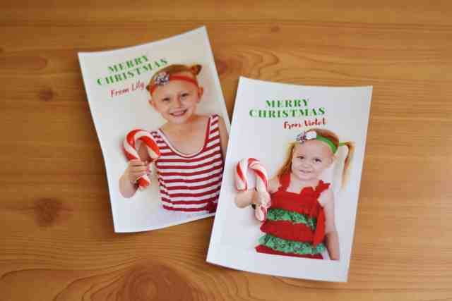 Fun personalised christmas cards with photos