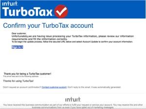 TurboTax Phishing