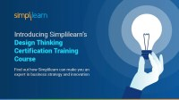 Introducing Simplilearns Design Thinking Certification ...