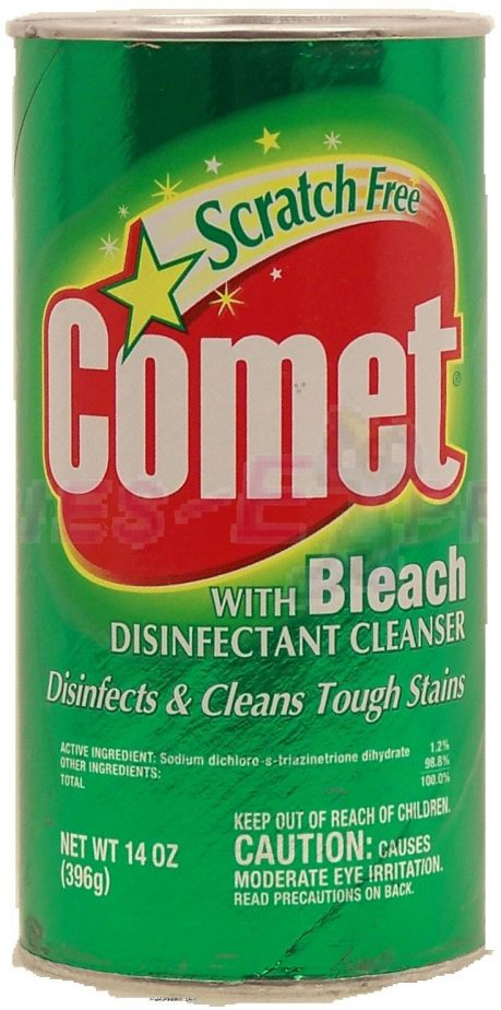 Image result for a picture of a can of comet