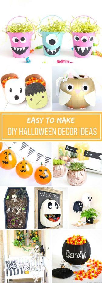30 Easy To Make Halloween Decor Ideas Simplistically Living
