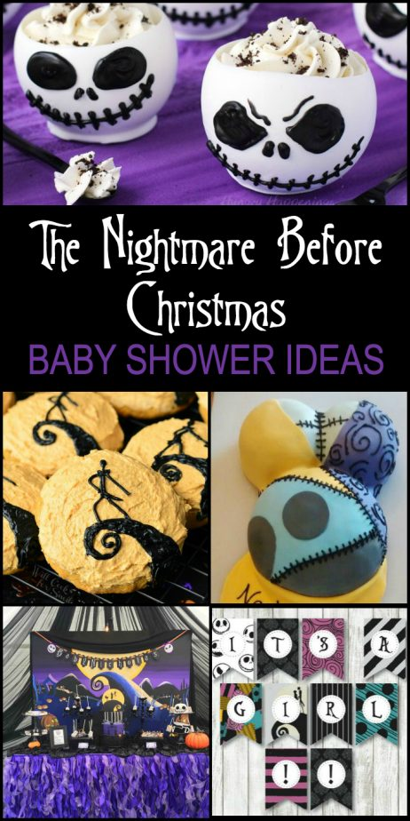 Baby Shower Nightmare Before Christmas Cake Topper The Cake Boutique