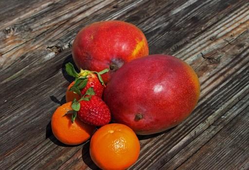 Mango and Tangerine