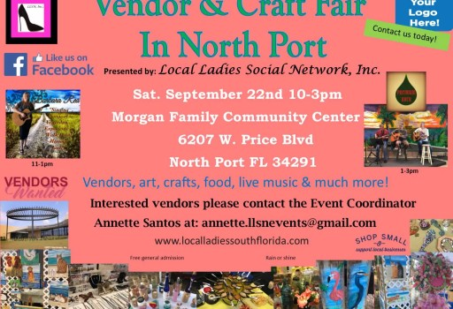 Craft Fair September 22nd