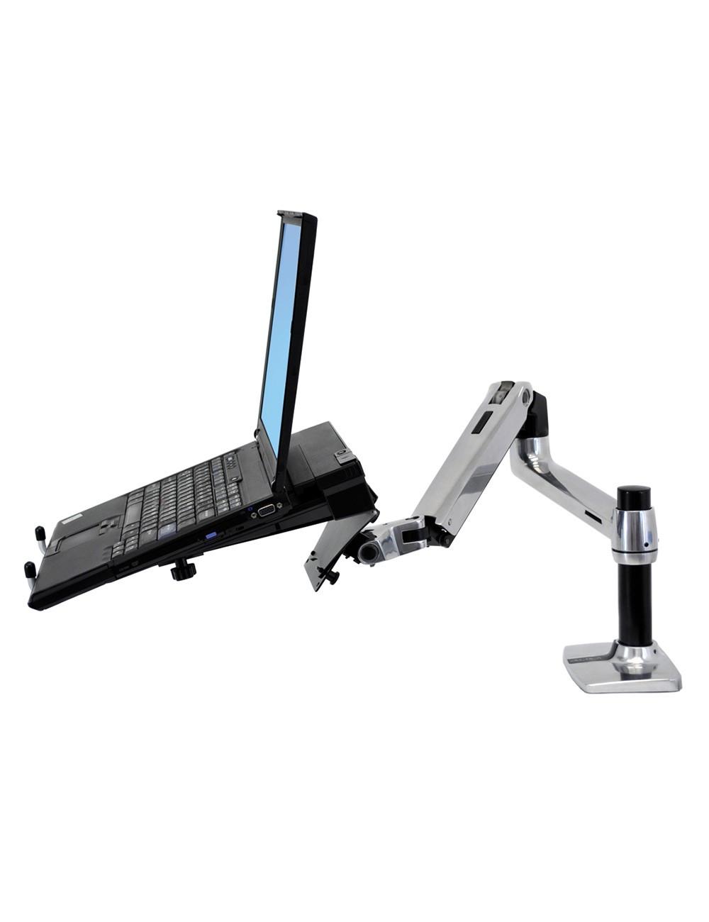 Ergotron LX Desk Mount Notebook Arm Sleek and streamlined