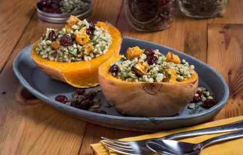 stuffed winter squash