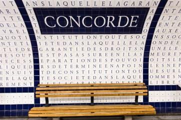 Metro Paris Concorde