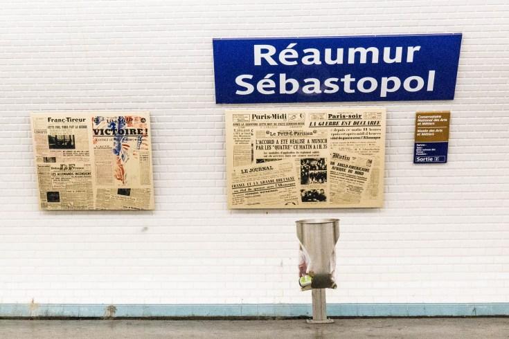 Paris Metro Reaumur Sebastopol