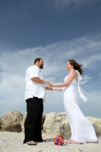 Eloped to Key West. The perfect wedding.