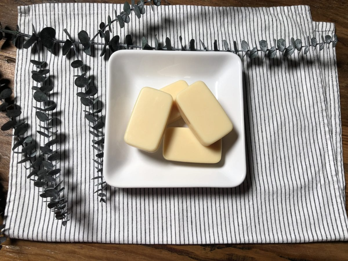 Lemon Eucalyptus CBD Lotion Bar Recipe