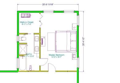Master Suite Addition Plans Home Design Ideas Pictures