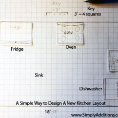 Design New Kitchen Layout Mitts How To Plan Change Your Without Software Simple Tips
