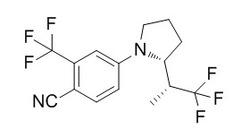 picture of LGD-4033 molecular makeup