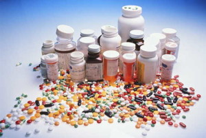 picture of many steroid tablets