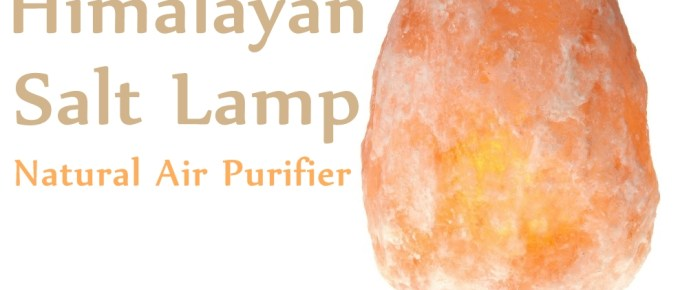 Himalayan Salt Lamp – Natural Air Purifier