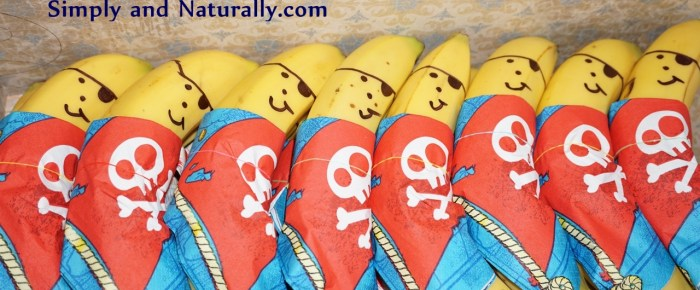 Super Simple Pirate Bananas – Funny Snack For Kids