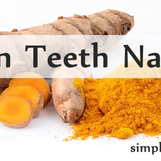Whiten Teeth Naturally With Turmeric