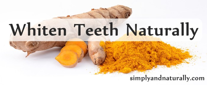 Whiten Teeth Naturally With Turmeric